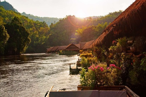 Thailand Travelphotography Hotel without strom