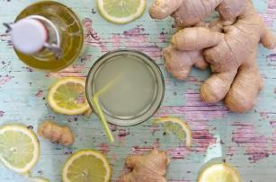 Limo-Ingwer-Zitrone
