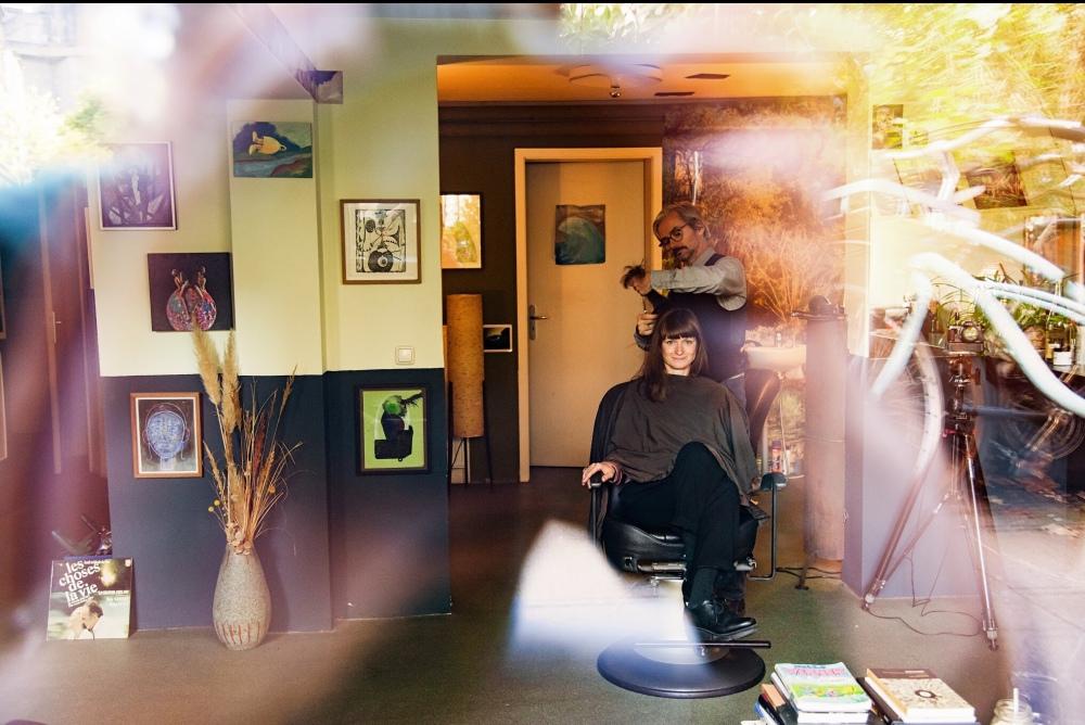 Foto Serie Paar Friseur
